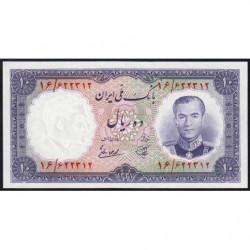 Iran - Pick 68 - 10 rials - 1958 - Etat : NEUF