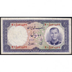 Iran - Pick 68 - 10 rials - 1958 - Etat : TB