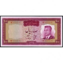 Iran - Pick 77 - 100 rials - 1963 - Etat : pr.NEUF