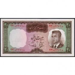 Iran - Pick 78a - 20 rials - 1965 - Etat : NEUF