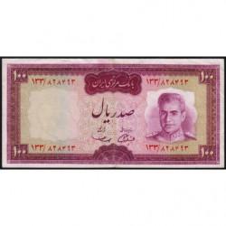 Iran - Pick 86a - 100 rials - 1969 - Etat : TTB