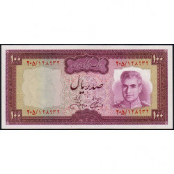 Iran - Pick 91c - 100 rials - 1971 - Etat : NEUF