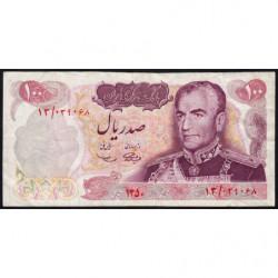 Iran - Pick 98 - 100 rials - 1971 - Commémoratif - Etat : TB+