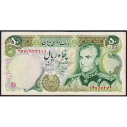 Iran - Pick 101c - 50 rials - 1975 - Etat : TTB