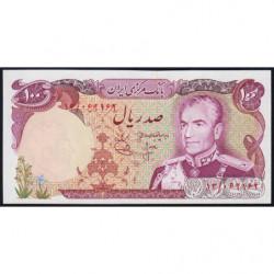 Iran - Pick 102a - 100 rials - 1974 - Etat : NEUF