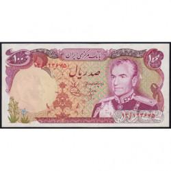 Iran - Pick 102a - 100 rials - 1974 - Etat : pr.NEUF