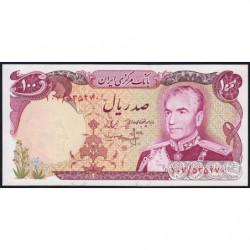 Iran - Pick 102b - 100 rials - 1975 - Etat : NEUF