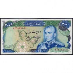 Iran - Pick 103a - 200 rials - 1974 - Etat : SPL