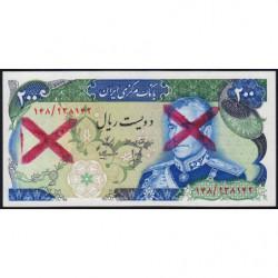 Iran - Pick 103x - 200 rials - 1975 - Etat : NEUF