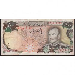 Iran - Pick 104b - 500 rials - 1975 - Etat : TB