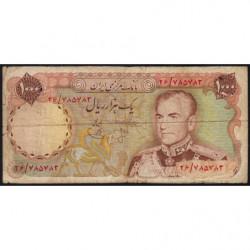 Iran - Pick 105a - 1'000 rials - 1974 - Etat : B+