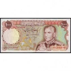 Iran - Pick 105b - 1'000 rials - 1975 - Etat : TTB+