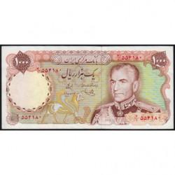 Iran - Pick 105c - 1'000 rials - 1975 - Etat : SUP