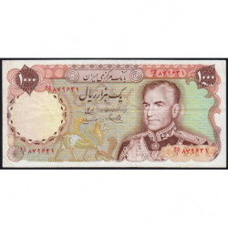 Iran - Pick 105c - 1'000 rials - 1975 - Etat : TTB-