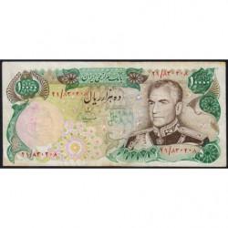 Iran - Pick 107b - 10'000 rials - 1975 - Etat : TB+