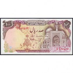 Iran - Pick 132 - 100 rials - 1981 - Etat : NEUF