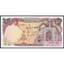 Iran - Pick 135 - 100 rials - 1982 - Etat : NEUF