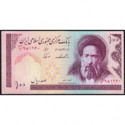 Iran - Pick 140b - 100 rials - 1986 - Etat : NEUF