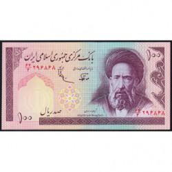 Iran - Pick 140d - 100 rials - 1989 - Etat : NEUF