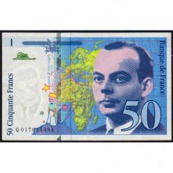 F 73-01a - 1994 - 50 francs - Saint-Exupéry - Etat : TTB