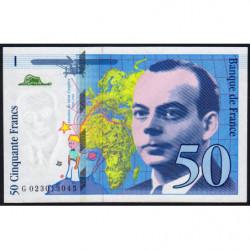 F 73-01d - 1994 - 50 francs - Saint-Exupéry - Série G - Etat : NEUF
