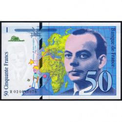 F 73-01d - 1994 - 50 francs - Saint-Exupéry - Série R - Etat : NEUF