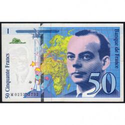 F 73-01d - 1994 - 50 francs - Saint-Exupéry - Série M - Etat : SUP
