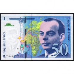 F 73-05 - 1999 - 50 francs - Saint-Exupéry - Série Y - Etat : pr.NEUF