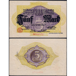 Allemagne - Notgeld - Altona - 5 mark - 02/11/1918 - Etat : TTB