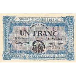 Foix - Pirot 59-3b - 1 franc - 02/02/1915 - Etat : NEUF