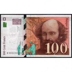 F 74-01 - 1997 - 100 francs - Cézanne - Etat : TTB+