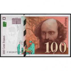 F 74-01 - 1997 - 100 francs - Cézanne - Etat : NEUF