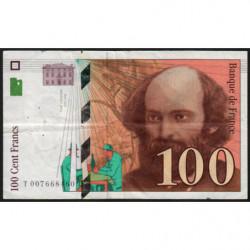 F 74-01 - 1997 - 100 francs - Cézanne - Etat : TB+