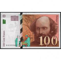 F 74-01 - 1997 - 100 francs - Cézanne - Etat : SUP