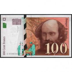 F 74-02 - 1997 - 100 francs - Cézanne - Etat : SUP