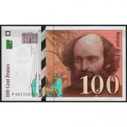 F 74-02 - 1997 - 100 francs - Cézanne - Etat : pr.NEUF