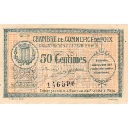 Foix - Pirot 59-05a - 50 centimes - 1915 - Etat : SUP
