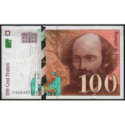 F 74-02 - 1997 - 100 francs - Cézanne - Etat : TTB