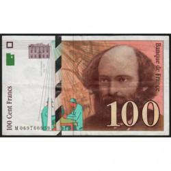 F 74-02 - 1997 - 100 francs - Cézanne - Etat : TTB-