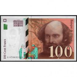F 74-02 - 1997 - 100 francs - Cézanne - Etat : NEUF