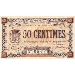 Granville - Pirot 60-1a - 50 centimes - 1915 - Etat : SUP+