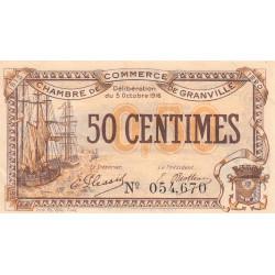 Granville - Pirot 60-07 - 50 centimes - 1916 - Etat : SUP+