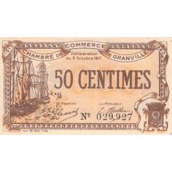 Granville - Pirot 60-11 - 50 centimes - 05/10/1917 - Etat : TTB
