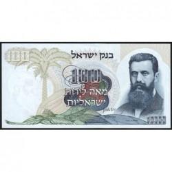 Israël - Pick 37c - 100 lirot - 1968 (1973) - Etat : pr.NEUF