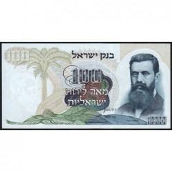 Israël - Pick 37d - 100 lirot - 1968 (1974) - Etat : pr.NEUF