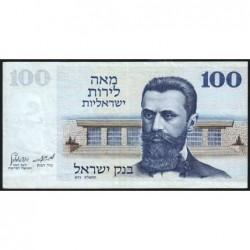 Israël - Pick 41 - 100 lirot - 1973 (1975) - Etat : TTB-