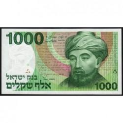 Israël - Pick 49b - 1'000 sheqalim - 1983 - Etat : pr.NEUF