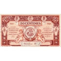 Aurillac (Cantal) - Pirot 16-12a-H - 50 centimes - 1917 - Etat : NEUF