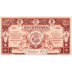 Aurillac (Cantal) - Pirot 16-12a - Série H - 50 centimes - 1917 - Etat : NEUF