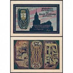 Pologne - Notgeld - Freiburg (Swiebodzice) - 25 pfennig - 09/1921 - Etat : NEUF
